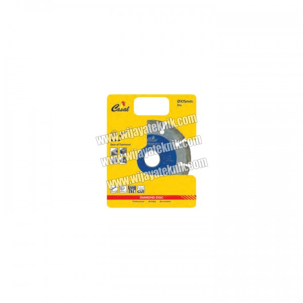 "Diamond Disc 105mm / 4"" Dry CASAL"