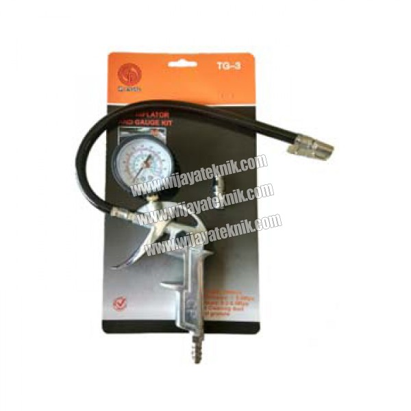 Tire Inflator and Gauge Kit TG-3 CP