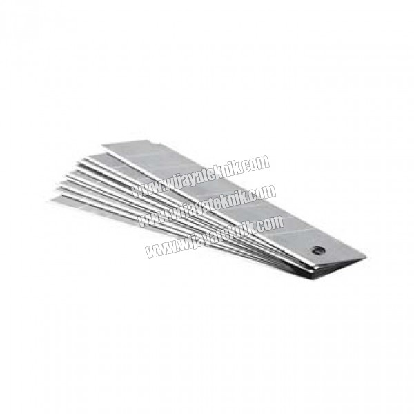10pcs Replacement Blade (10 Pcs Mata Pisau) 100 x 18 mm MAXPOWER