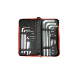 14pcs Long Arm Hex Key Wallet Pack MAXPOWER