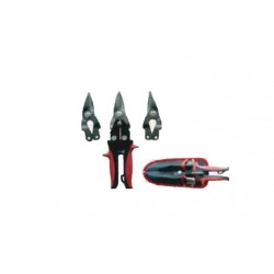 3pcs Aviation Snips LEFT, RIGHT, STRAIGHT 10inch MAXPOWER