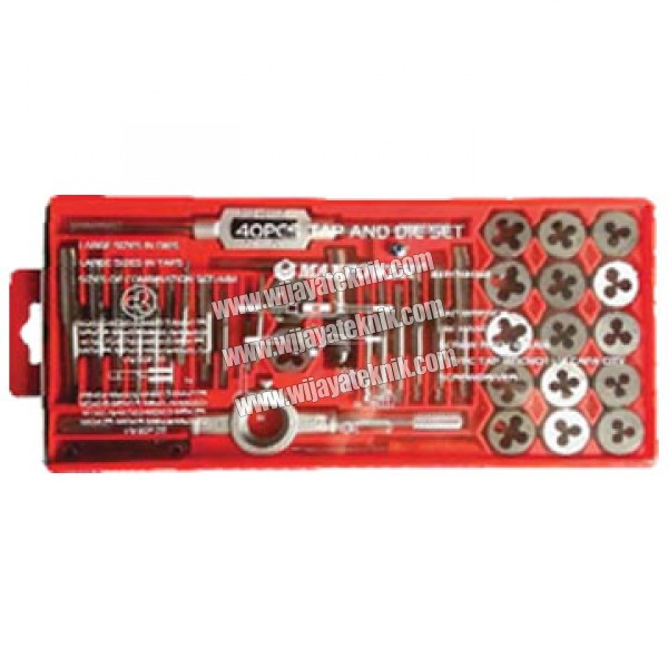40pcs Tap And Die Set MAXPOWER