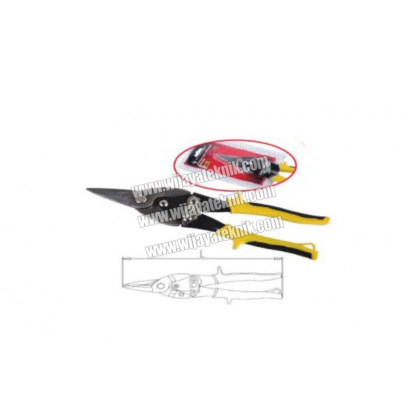 Aviation Snips - Straight Drop Forged CR-MO 10inch MAXPOWER