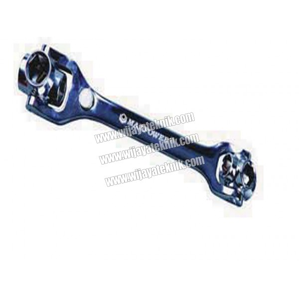 Dog Bone Wrench WD-01 12-19mm MAXPOWER