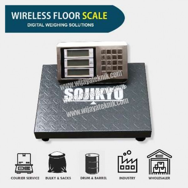 Timbangan Digital Portable Wireless Type 1TPSWP Cap. 1ton SOJIKYO